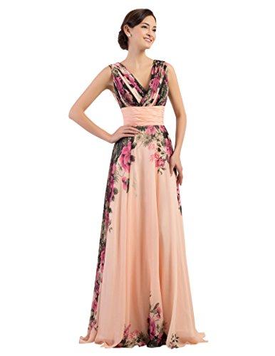damen brautjungfernkleid ärmellos hochzeitskleid ...