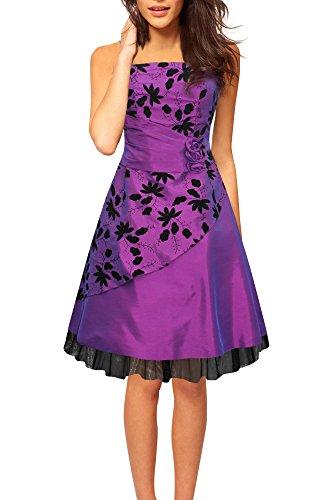 mode ballkleider knielang prom dress geburtstag kleid ...