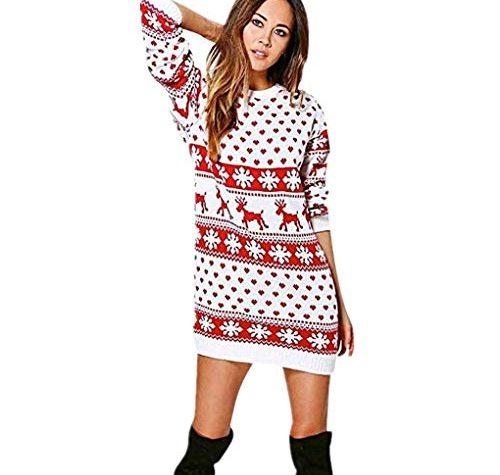 Dorical Weihnachtskleider Festliche Kleider Damen Schicke ...